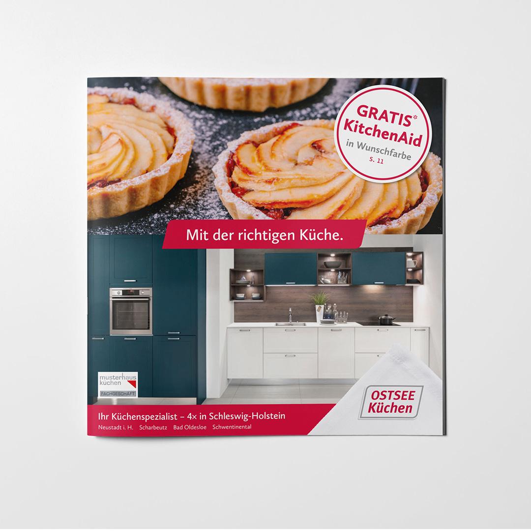 Ostseeküchen Imagebroschüre