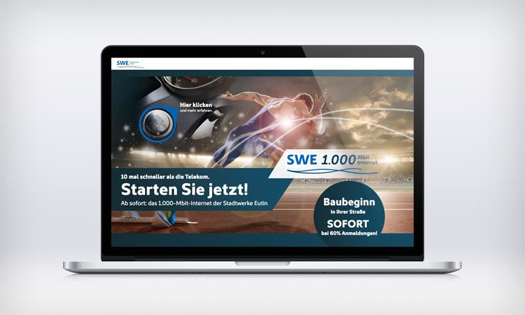 Stadtwerke Eutin: Breitband Webseite