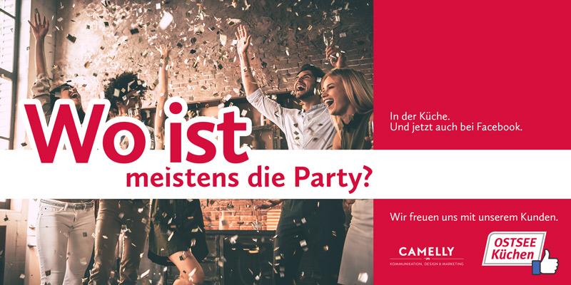 Wo ist meistens die Party?