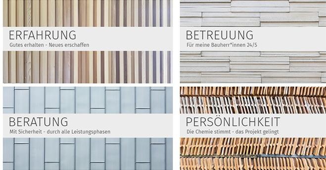 Webseite für Architektin – mal anders